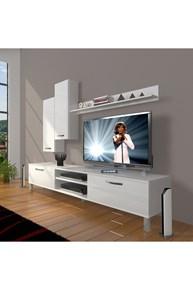 Eko 7 Slm Dvd Krom Ayaklı Tv Ünitesi - DA08TV14 görseli
