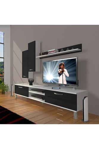 Eko 7 Slm Dvd Krom Ayaklı Tv Ünitesi - DA08TV14 görseli, Picture 2