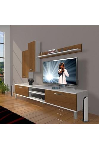 Eko 7 Slm Dvd Krom Ayaklı Tv Ünitesi - DA08TV14 görseli, Picture 3