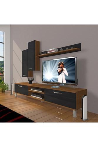 Eko 7 Slm Dvd Krom Ayaklı Tv Ünitesi - DA08TV14 görseli, Picture 5