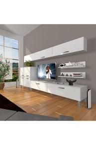 Eko 8 Slm Std Krom Ayaklı Tv Ünitesi - DA09TV10 görseli