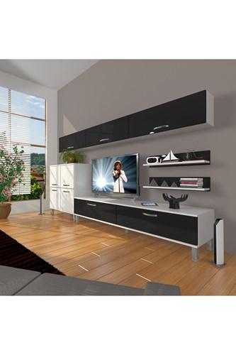 Eko 8 Slm Std Krom Ayaklı Tv Ünitesi - DA09TV10 görseli, Picture 2