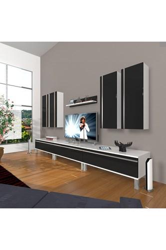 Eko 8d Mdf Krom Ayaklı Tv Ünitesi - DA10TV02 görseli, Picture 2