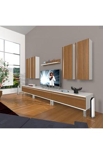 Eko 8d Mdf Krom Ayaklı Tv Ünitesi - DA10TV02 görseli, Picture 3