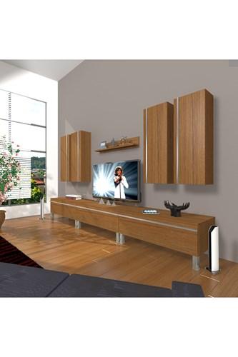 Eko 8d Mdf Krom Ayaklı Tv Ünitesi - DA10TV02 görseli, Picture 6