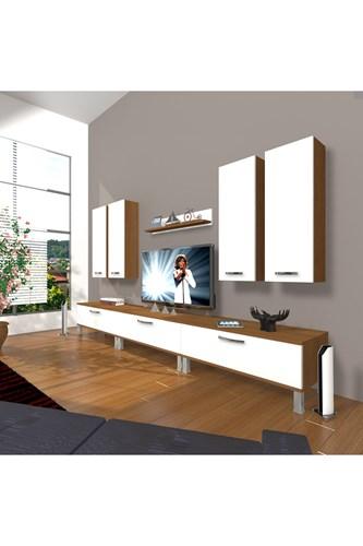 Eko 8d Slm Krom Ayaklı Tv Ünitesi - DA10TV06 görseli, Picture 4