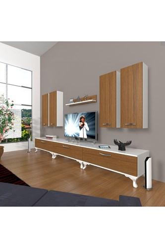 Eko 8d Slm Rustik Tv Ünitesi - DA10TV08 görseli, Picture 3