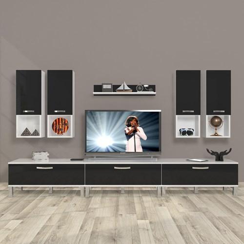 Eko 8da Mdf Krom Ayaklı Tv Ünitesi - DA10TV10 görseli, Picture 2