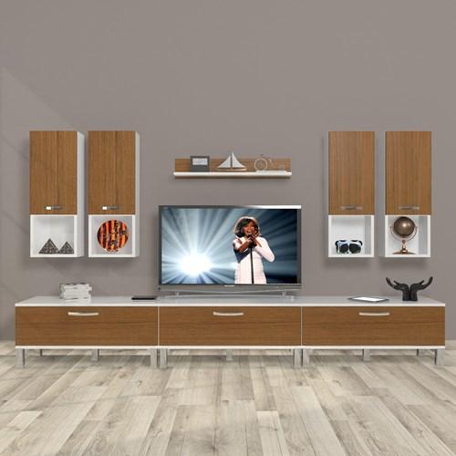 Eko 8da Mdf Krom Ayaklı Tv Ünitesi - DA10TV10 görseli, Picture 3