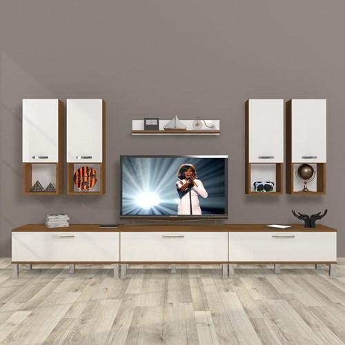 Eko 8da Mdf Krom Ayaklı Tv Ünitesi - DA10TV10 görseli, Picture 4