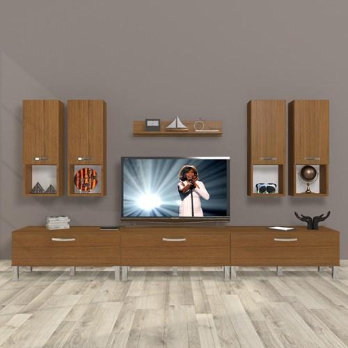 Eko 8da Mdf Krom Ayaklı Tv Ünitesi - DA10TV10 görseli, Picture 6