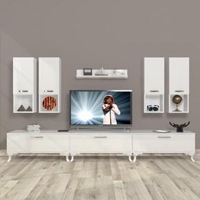 Eko 8da Slm Rustik Tv Ünitesi - DA10TV16 görseli