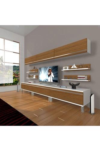 Eko 8y Mdf Krom Ayaklı Tv Ünitesi - DA11TV02 görseli, Picture 3