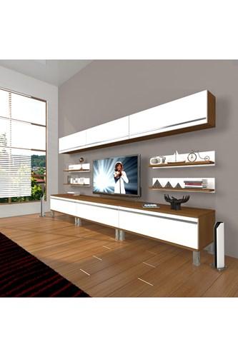 Eko 8y Mdf Krom Ayaklı Tv Ünitesi - DA11TV02 görseli, Picture 4