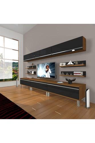 Eko 8y Mdf Krom Ayaklı Tv Ünitesi - DA11TV02 görseli, Picture 5