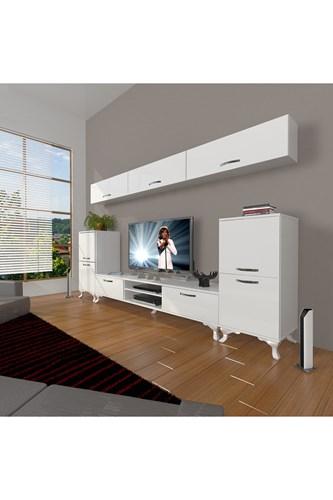 Eko 9 Slm Dvd Rustik Tv Ünitesi - DA12TV16 görseli, Picture 1