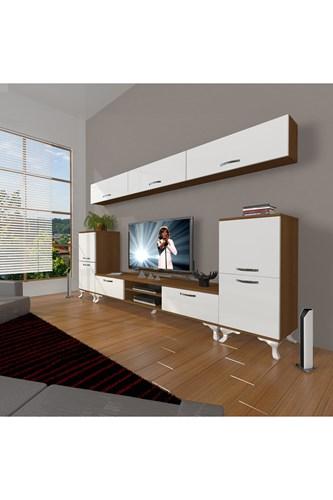 Eko 9 Slm Dvd Rustik Tv Ünitesi - DA12TV16 görseli, Picture 4