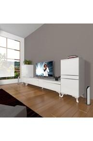 Eko On2 Mdf Std Rustik Tv Ünitesi - DA14TV04 görseli