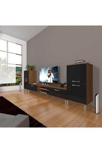 Eko On2 Mdf Dvd Krom Ayaklı Tv Ünitesi - DA14TV06 görseli, Picture 5