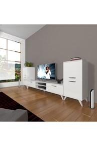Eko On2 Mdf Dvd Retro Tv Ünitesi - DA14TV07 görseli