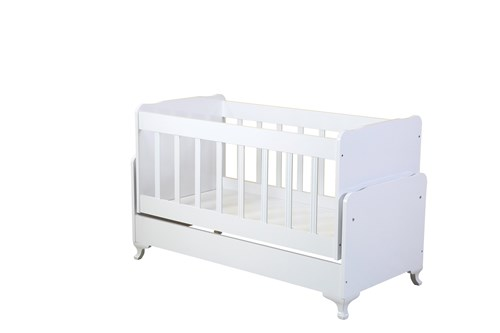 Sallanır Anne Yanı Bebek Beşiği - D-205 görseli, Picture 1