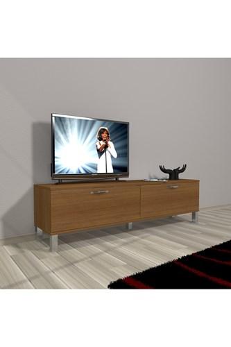 Eko 140 Mdf Std Krom Ayaklı Tv Ünitesi - DA15TV06 görseli, Picture 6