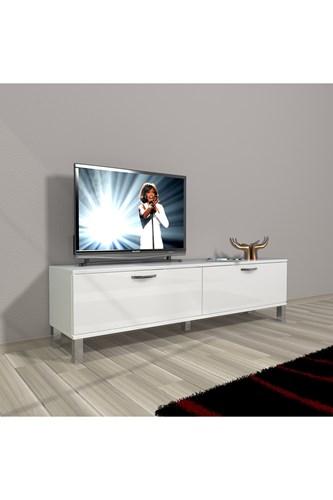 Eko 140 Slm Std Krom Ayaklı Tv Ünitesi - DA15TV14 görseli, Picture 1