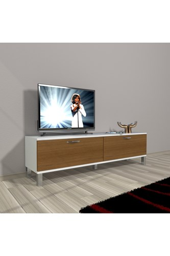 Eko 140 Slm Std Krom Ayaklı Tv Ünitesi - DA15TV14 görseli, Picture 3