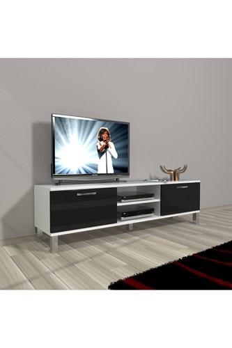 Eko 140 Slm Dvd Krom Ayaklı Tv Ünitesi - DA15TV18 görseli, Picture 2