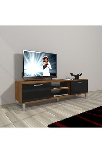 Eko 140 Slm Dvd Krom Ayaklı Tv Ünitesi - DA15TV18 görseli, Picture 5
