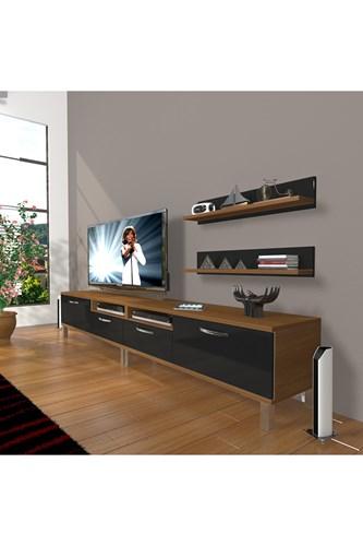 Eko 220r Mdf Krom Ayaklı Tv Ünitesi - DA17TV02 görseli, Picture 5