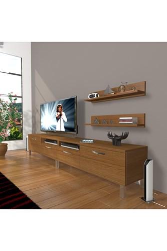 Eko 220r Mdf Krom Ayaklı Tv Ünitesi - DA17TV02 görseli, Picture 6