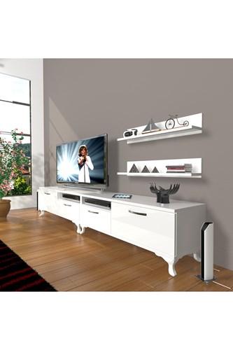 Eko 220r Slm Rustik Tv Ünitesi - DA17TV08 görseli, Picture 1