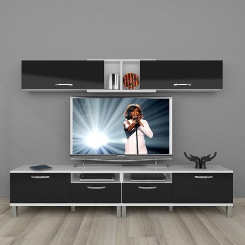 Eko 5220 Mdf Krom Ayaklı Tv Ünitesi - DA18TV02 görseli, Picture 2