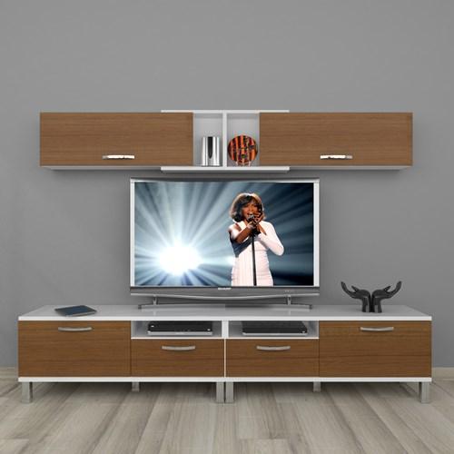 Eko 5220 Mdf Krom Ayaklı Tv Ünitesi - DA18TV02 görseli, Picture 3