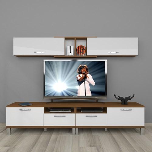 Eko 5220 Mdf Krom Ayaklı Tv Ünitesi - DA18TV02 görseli, Picture 4