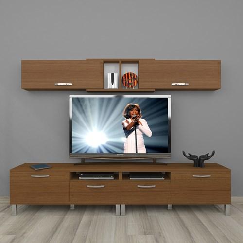 Eko 5220 Slm Krom Ayaklı Tv Ünitesi - DA18TV06 görseli, Picture 6