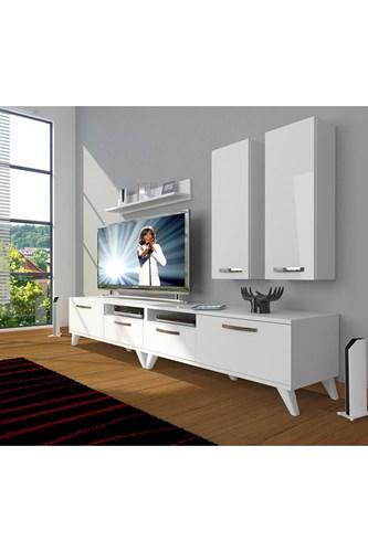 Eko 5220d Mdf Retro Tv Ünitesi - DA18TV11 görseli, Picture 1