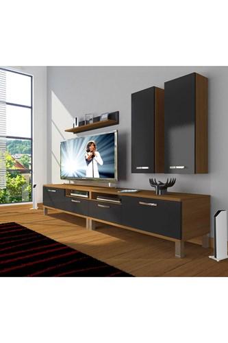 Eko 5220d Slm Krom Ayaklı Tv Ünitesi - DA18TV14 görseli, Picture 5