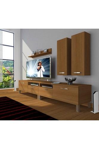 Eko 5220d Slm Krom Ayaklı Tv Ünitesi - DA18TV14 görseli, Picture 6