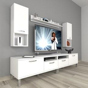 Eko 5220da Mdf Krom Ayaklı Tv Ünitesi - DA18TV18 görseli