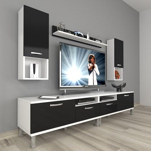 Eko 5220da Mdf Krom Ayaklı Tv Ünitesi - DA18TV18 görseli, Picture 2