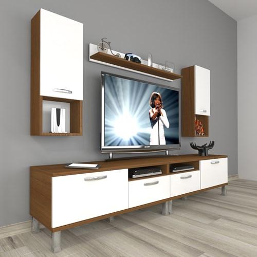 Eko 5220da Mdf Krom Ayaklı Tv Ünitesi - DA18TV18 görseli, Picture 4