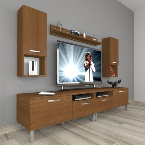 Eko 5220da Mdf Krom Ayaklı Tv Ünitesi - DA18TV18 görseli, Picture 6