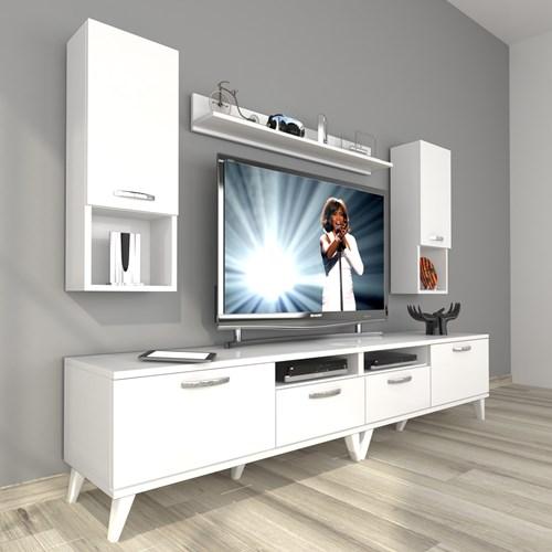 Eko 5220da Mdf Retro Tv Ünitesi - DA18TV19 görseli, Picture 1