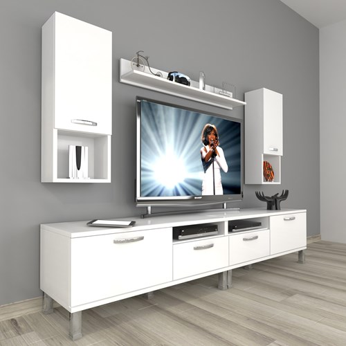 Eko 5220da Slm Krom Ayaklı Tv Ünitesi - DA18TV22 görseli, Picture 1