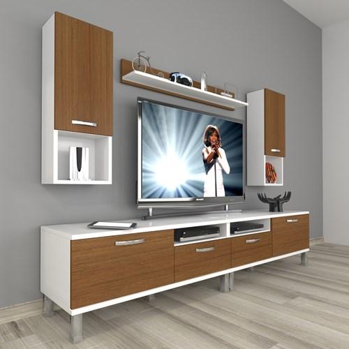 Eko 5220da Slm Krom Ayaklı Tv Ünitesi - DA18TV22 görseli, Picture 3
