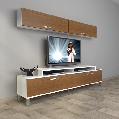 Ekoflex 5 Slm Krom Ayaklı Tv Ünitesi - DA20TV06 görseli, Picture 3