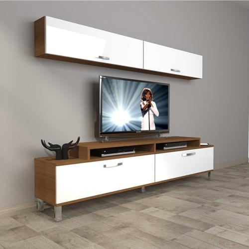 Ekoflex 5 Slm Krom Ayaklı Tv Ünitesi - DA20TV06 görseli, Picture 4