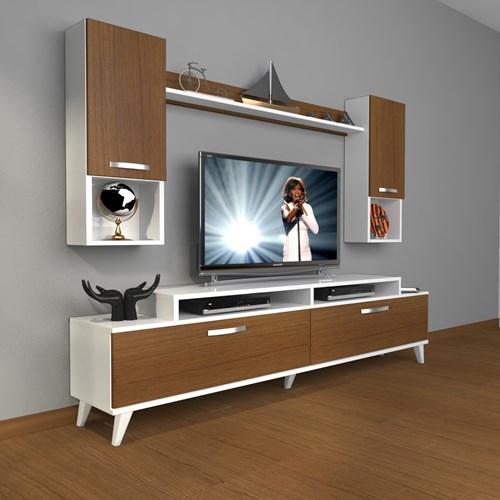Ekoflex 5da Mdf Retro Tv Ünitesi - DA20TV11 görseli, Picture 3